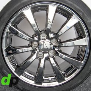 "17"" Lexus IS250 is350 Factory OEM Ecodriven Chrome Wheels Rims BFGoodrich Tires"