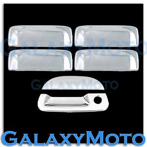 01 05 Ford Explorer Sport Trac Triple Chrome Plated 4 Door Handle Tailgate Cover