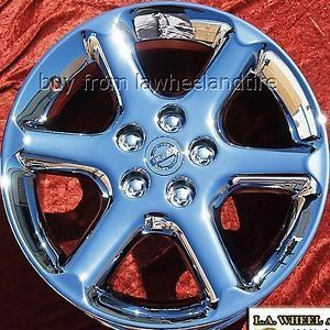 "Set of 4 New Chrome 17"" Nissan Maxima Wheels Rims Altima 350Z 300zx 62401"