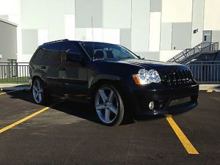 2008 Jeep Grand Cherokee SRT Package 22 inch Wheels Rebuilt