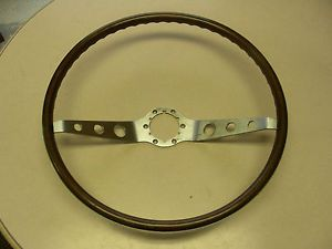 1964 1965 1966 Chevy Wood 2 Spoke Steering Wheel Chevelle Impala Nova SS396 409