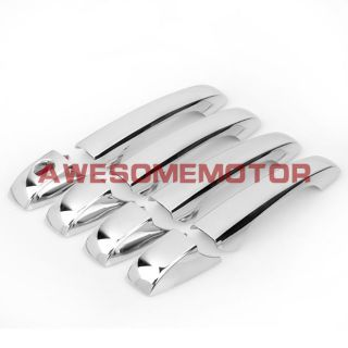US Chrome Door Handle Cover Trim for 2007 2010 Dodge Avenger Caliber Journey Set