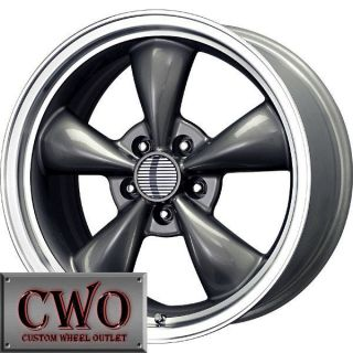 17 Gunmetal Replica Bullitt Wheels Rims 5x114 3 5 Lug Mustang 350Z G35 Crown Vic