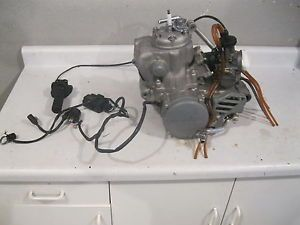 2000 Honda CR250 2 Stroke Complete Engine Carb Stator Runs Great Go Cart CR
