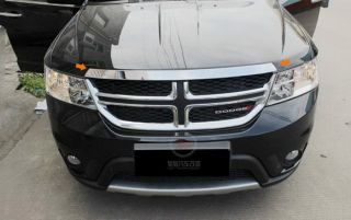 For Dodge Journey 2009 2013 Stainless Steel Front Hood Cover Trim
