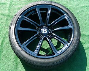 Perfect New Genuine Bentley Continental Supersport Super Sports Wheels Tires