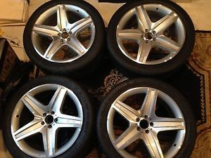 Mercedes Benz GL 21inch AMG Rims w Continental Cross Contact Tires 295 40 21