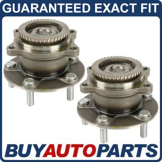 Pair New Premium Quality Rear Wheel Hub Bearing Assembly Mitsubishi Endeavor