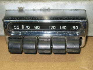 1953 Chevy Bel Air Dashboard Radio