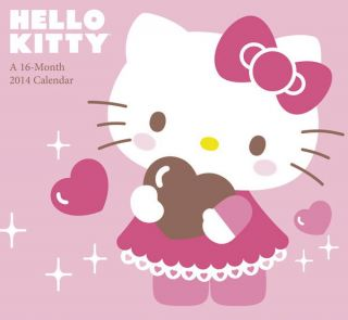 Hello Kitty Mini Calendar 2014