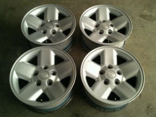 "Set of 4 17x8 17"" Factory Dodge RAM 1500 Aluminum Wheels Rims Stock"