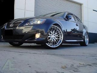 20 inch Nissan 350Z 370Z Altima Wheels Rims and Tires GT1 Silver