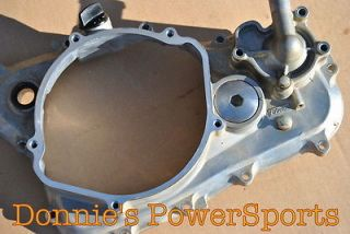 Honda CRF250R 04 09 Crankcase Clutch Cover Engine Motor 11331 KRN 730 126