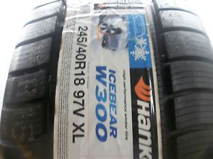 Hankook 245 40R18 97V Icebear W300 XL Winter Snow Tire 2454018