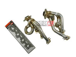 02 03 04 Dodge RAM 1500 4 7L V8 2 4 WD OBX Exhaust Header Shorty