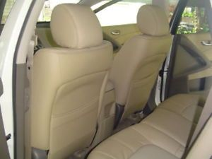 2009 Nissan Murano Leather Interior Seat Covers Ivory