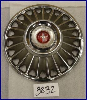"1967 67 Ford Mustang 14"" Rib Type Hubcap Hub Cap Good Used C7ZZ1130B U 10 630"