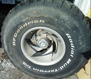 Set of 4 BFGoodrich All Terrain on Amarican Racing Rims 35x12 5R15LT