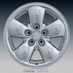 2002 2005 Dodge RAM 1500 20x9 Factory Replacement Polished Face Alloy Wheel