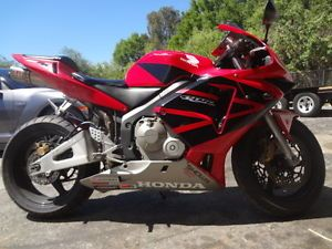 2003 2004 Honda CBR 600RR Engine Motor Runs Excellent Z119