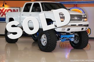 2003 Chevrolet 2500HD Full Monster Truck Is Street Legal in Texas Call Today