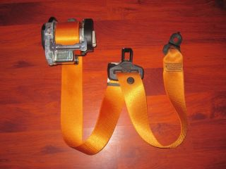 "Mercedes Benz ""Sprinter"" 1995 2009 O E M Orange Front Seatbelt"