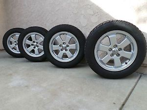 Toyota Prius Wheel Rims Tires Studded 15 x 6 Snow Winter Tire 195 R15 88T