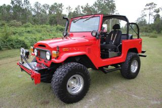 1972 Toyota FJ40 Land Cruiser Restored 4x4 FJ 40 Landcruiser Make OFFER Call Now