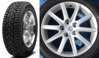 Lexus gs350 GS300 Factory Wheels Snow Tires Also Fit Camry ES300 ES330 Solara