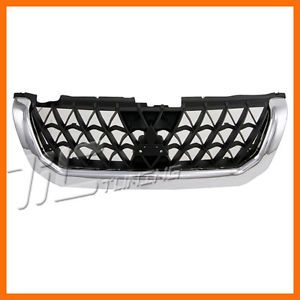 2000 2001 Mitsubishi Montero Chrome Black Sport Grille Grill Front Body Part