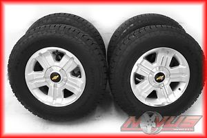 "New 18"" Chevy Tahoe Silverado Z71 GMC Yukon Sierra Wheels Nitto Tires 17 20"