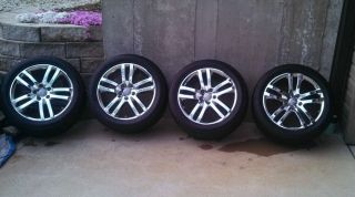 Audi Q7 Factory 20 inch Chrome Wheels