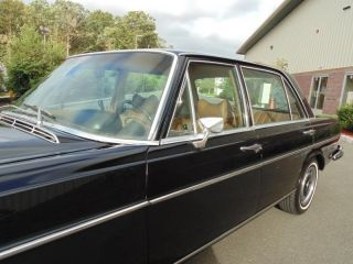 1969 Mercedes Benz 280 Sel Black Cognac 71K Miles Exceptional Car Must See