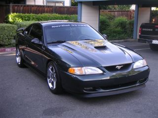 1994 1998 Ford Mustang Cobra R SVO Trufiber Functional Body Kit Hood
