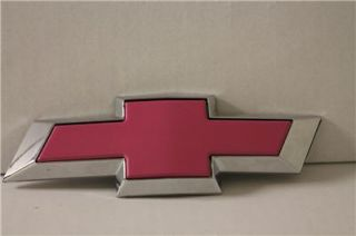 2011 2013 Chevy Equinox Pink Front Rear Gold Replacement Bowtie Grille Emblem
