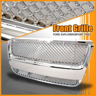 07 08 09 Ford Explorer Sport Trac Chrome Front Grille