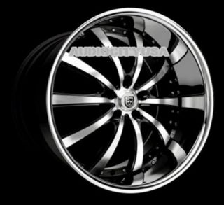 "22"" Lexani LSS10 BMC for Land Range Rover Wheels and Tires Rims HSE Sports"