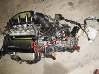 JDM 4AGE AE111 Black Top 20 Valve DOHC 1 6L Engine 6 Speed Toyota Levin Corolla