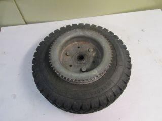 Bonanza Minibike 1400 1300 Kidney Bean Rear Mag Wheel and Sprocket