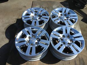 18'' 2012 2013 Toyota Tacoma Chrome Clad Wheels Rims 16 17 4Runner Tundra