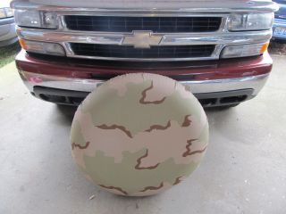 New Spare Tire Cover Desert Camo RV Trailer Jeep Hummer camper Military 4x4
