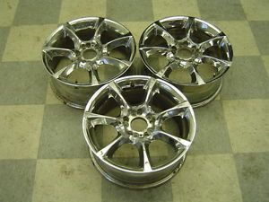 04 06 Pontiac GTO Aftermarket Wheels 17 x 8 Chrome 5 Spoke