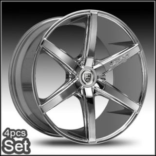 26inch Lexani R Six Wheels Rims 5 6LUG Escalade Tahoe Chevy Siverado Ford RAM