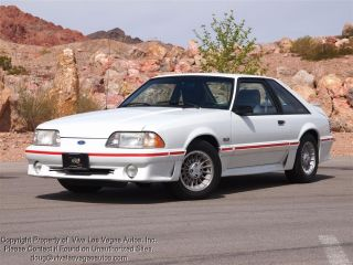 One Owner 1987 Ford Mustang GT 5 Speed Fox Body Cream Puff as Nice as They Get