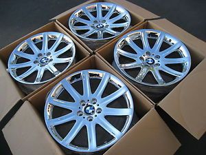 "19"" BMW 745i 745LI 750i 750LI Chrome Wheels Rims Factory Style 95"