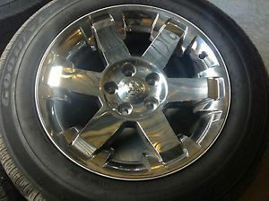 Dodge RAM 2013 20 inch Wheels Tires Rims Factory Chrome