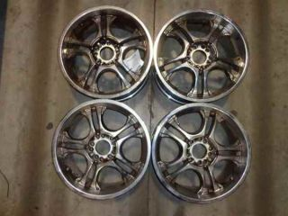 "Radd 17"" Aftermarket Wheels Off A 04 Cadillac cts LKQ"
