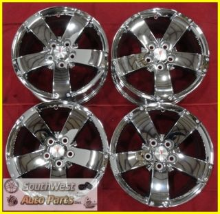 "06 07 08 09 Equinox Torrent 17"" Chrome Wheels New Take Off Rims Set 6620"