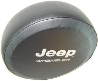 "Sparecover® ABC Series Jeep® Wrangler Tire Cover 32"" 33"" Tuxedo Black Vinyl"
