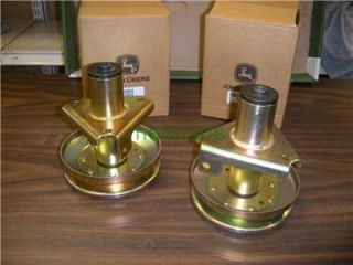 "John Deere Mower Deck Spindles 2 of AM128048 38"" LT155 New Pair Parts"